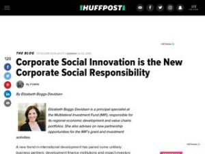 Husk Power in The Huffington Post